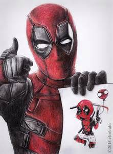 Deadpool Drawings