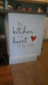 best 25 kitchen decals ideas on pinterest kitchen vinyl With kitchen cabinets lowes with family vinyl wall art