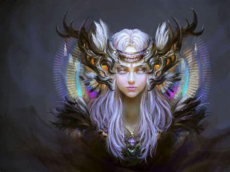 Beautiful Fantasy Princess Women Wallpaper : Wallpapers13.com