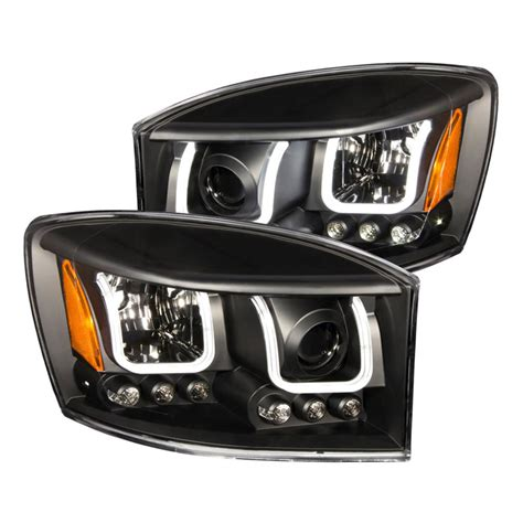 2006 Dodge Ram 1500 Lights anzo usa 2006 2008 dodge ram 1500 projector headlights w