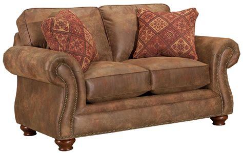 Broyhill Laramie Sofa Fabric by Broyhill Furniture Laramie Loveseat W Nail Trim