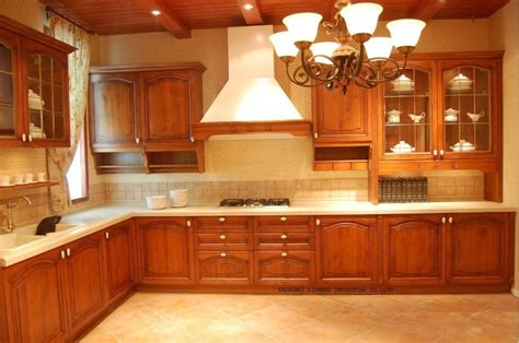 mould cherry solid wood kitchen cabinetlh sw