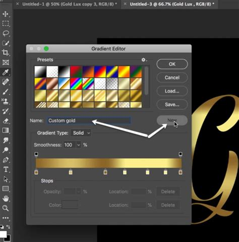 gold color photoshop gold color code how to make gold font photoshop effects