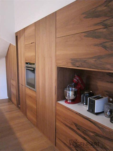 cuisine intégré cuisine équipée intégré au mur en bois felix hegenbart