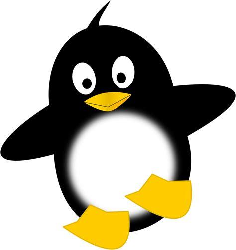 Clipartistnet » Clip Art » Little Funny Penguin