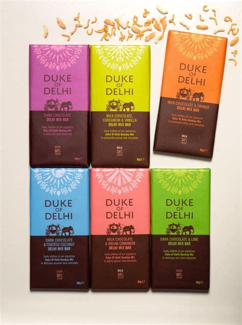 Duke Of Delhi  Packaging  디자인, 포장, 초콜릿