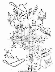 Poulan Pp1844k Tractor Parts Diagram For Mower
