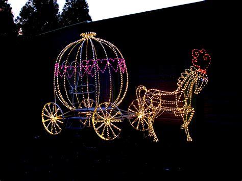 lighted princess carriage