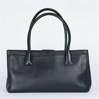 Calfskin Grained Chanel Tote Executive Bag Leather