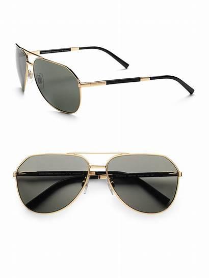 Sunglasses Gold Dolce Gabbana Edition Metallic Lyst