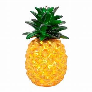 Objet Deco Ananas : boule de no l ananas verre h 10 cm ananas sunnylife ~ Teatrodelosmanantiales.com Idées de Décoration