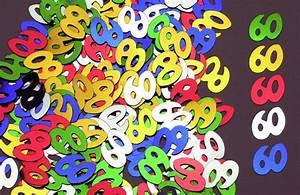 Deco Table Anniversaire 60 Ans : confettis de table soir e anniversaire 60 ans soir e ~ Dallasstarsshop.com Idées de Décoration