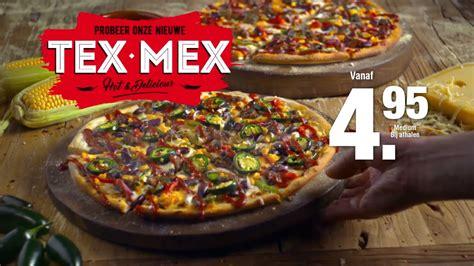 ontdek de dominos pizza tex mex doe je bestelling  wwwdominosnl youtube