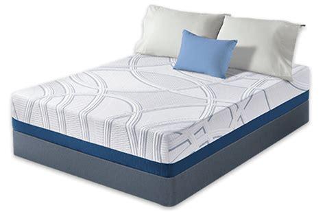 serta memory foam mattress serta sleeptogo 12 inch gel memory foam mattress