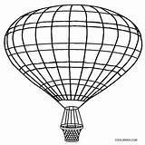 Balloon Air Coloring Basket Pages Printable Drawing Template Cool2bkids Balloons Templates Sketch Craft Clipartmag sketch template