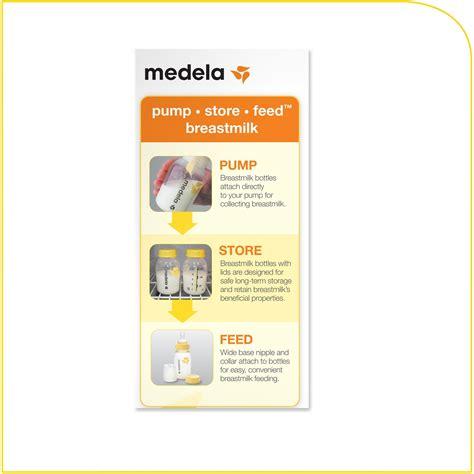 Amazoncom Medela Breastmilk Bottle Set 8 Ounce Baby