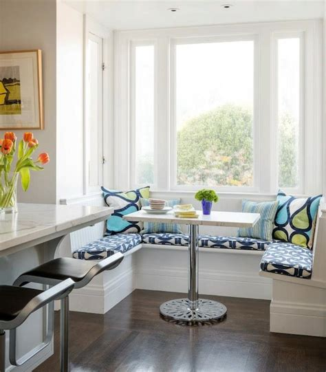 Not only does it give you a comfortable resting. Beadboard Banquette - Transitional - kitchen - Sutro ...