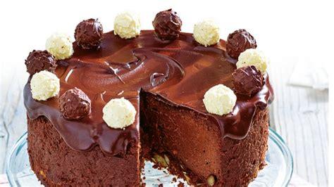 torte trifft auf praline schoko trueffel torte
