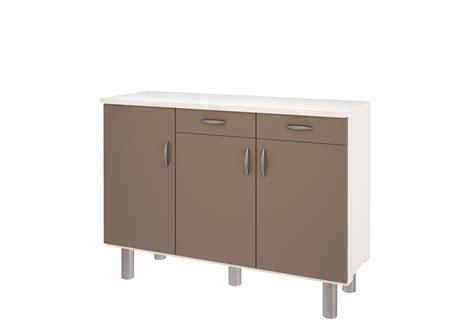 meuble buffet cuisine buffet bas de cuisine buffet design 4 portes avec leds en