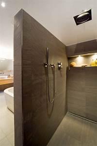 Offene Dusche Gemauert : walk in duschen in top design 15 beispiele die beeindrucken ~ Markanthonyermac.com Haus und Dekorationen
