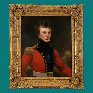 Portrait of an Officer of the East India Company ...