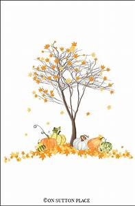 Fall Watercolor Printables Free DIY Wall Art - On Sutton
