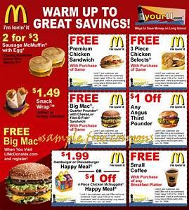 Mcdonalds Coupons June 2014