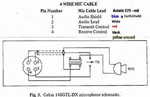 Wiring Diagram For Cb Mics 5 Pin Cobrs 148