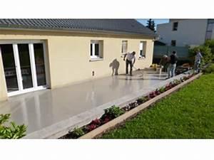 Resine Pour Terrasse Beton Exterieur : revetement terrasse exterieure resine decoration ~ Edinachiropracticcenter.com Idées de Décoration