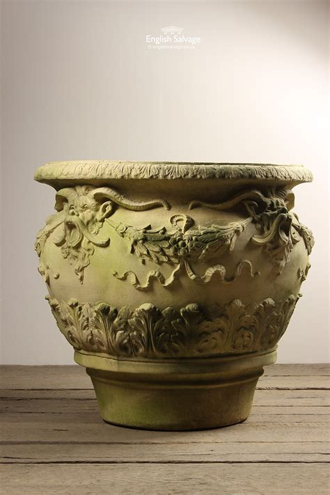 Large Reconstituted Stone Planter/Vase