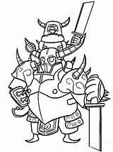Clash Royale Coloring Pages Cool Printable Clans Game Childrencoloring Games sketch template