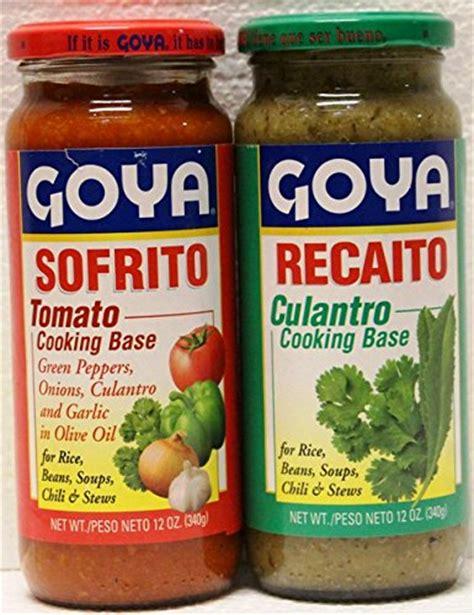what is recaito goya recaito goya sofrito cooking base 2 12 oz jars 1 of each fitness tracker fitness