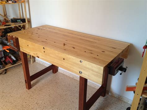 daniels woodworking bench  wood whisperer