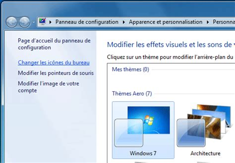 icones bureau windows 7 bureau icônes et fenêtres windows 7 aidewindows