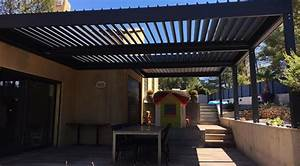 Pergola Bioclimatique Sur Mesure : pergola bioclimatique pergola aluminium pergola lames ~ Melissatoandfro.com Idées de Décoration