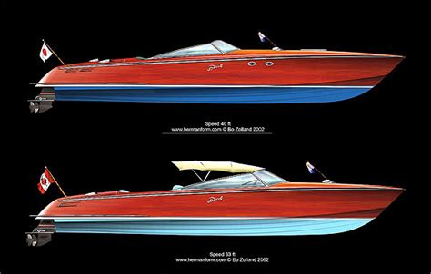 Wooden Powerboat Plans by Powerboat Wood Boat Design Net Gallery
