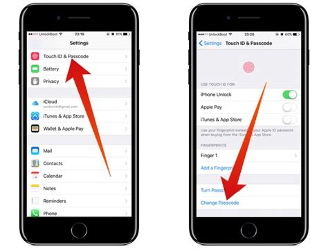 change iphone password how to change iphone passcode or password easily Chang