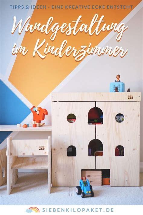 Wandgestaltung Für Kinderzimmer Streichen by Wandgestaltung Im Kinderzimmer Eine Kunterbunte