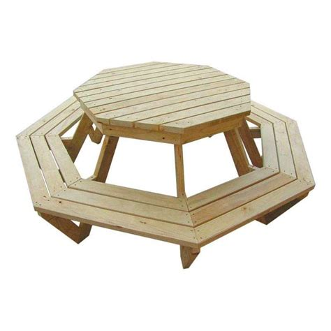quot the weekender quot adults octagonal bbq table 8
