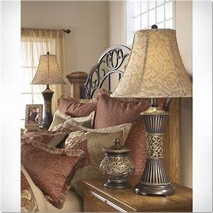 Pair, Of, 2, Table, Lamps, Shade, Light, Bedroom, Nightstand, Lamp