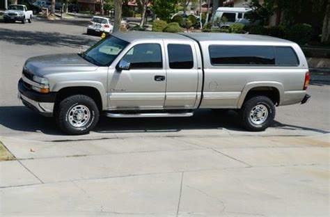 how can i learn about cars 2002 chevrolet avalanche electronic throttle control buy used 2002 chevy silverado 8 1l 2500hd in cerritos california united states for us 12 000 00