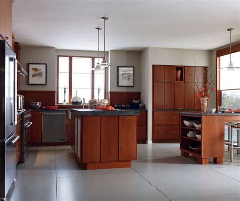 Cherry Cabinet Kitchens by Kitchen With Cherry Cabinets Cabinetry