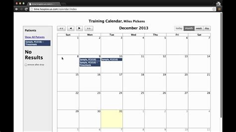 calendar timesheets drag  drop  youtube