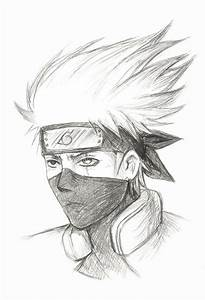 Kakashi Hatake Sketch by Sesshota on DeviantArt
