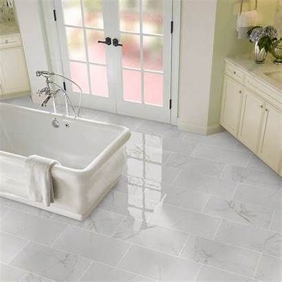 Marble Porcelain Tile Tiles Bathroom Carrara Looks