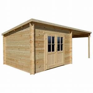 Abri De Jardin Avec Terrasse : abri toit plat 9m plus terrasse couverte lat rale 9m ~ Dailycaller-alerts.com Idées de Décoration