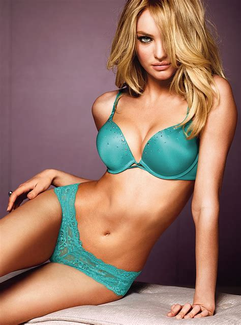 candice swanepoel victorias secret lingerie july