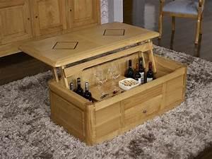 Table Basse Coffre Bar : table basse bar en ch ne de style louis philippe meuble en ch ne ~ Teatrodelosmanantiales.com Idées de Décoration