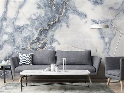 Marble Wall Mural Wallsauce Decor Feature Gold