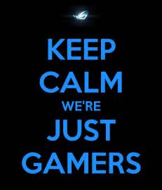 backyard weddings keep calm we are just gamers and gamers